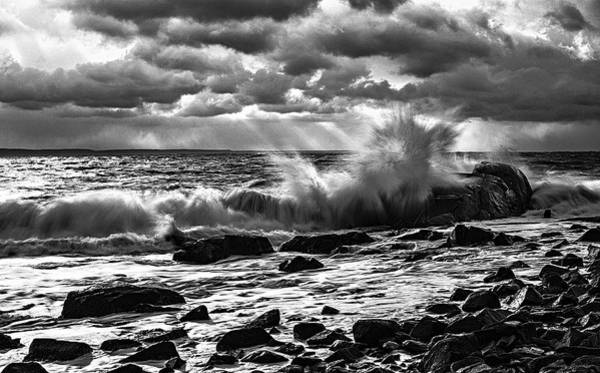 Photograph - Bold Coast 2 by Marty Saccone