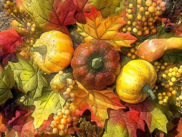 Wall Art - Digital Art - Bold Harvest by Rose Guay