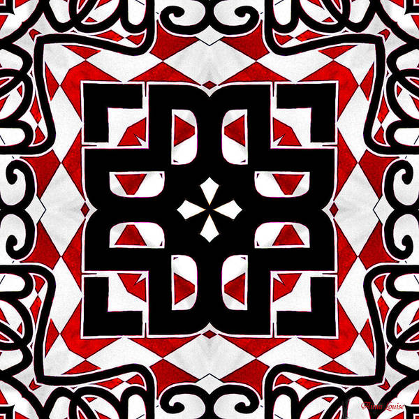 Photograph - Bold Kaleidoscope 1 by Anna Louise