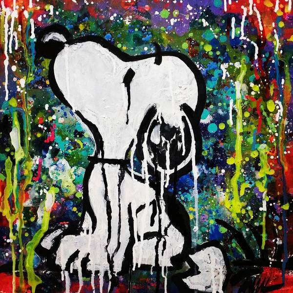 Artwork Painting - Bold.snoopy by A MiL