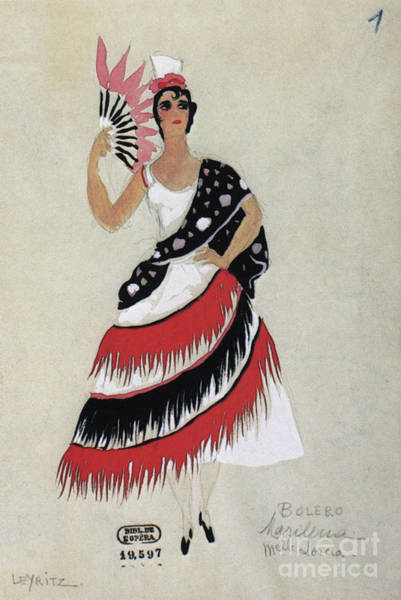 Photograph - Bolero Costume by Granger