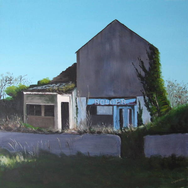 Dereliction Painting - Bolger's, Crookstown by Tony Gunning