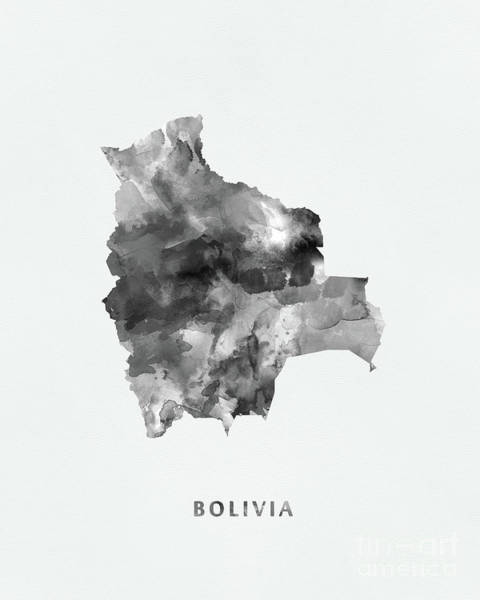 Bolivia Mixed Media - Bolivia by Monn Print