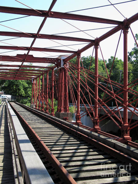 Maryland Wall Art - Photograph - Bollman Truss Bridge At Savage Maryland by William Kuta