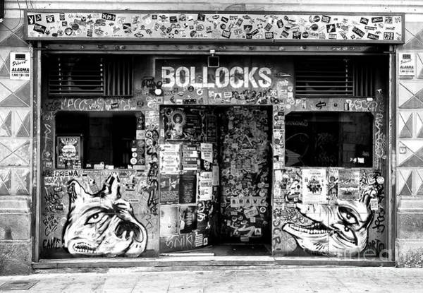 Photograph - Bollocks In Barcelona by John Rizzuto