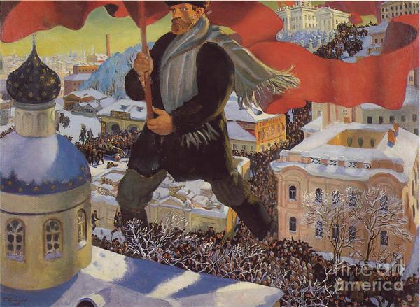 Bolshevik Painting - Bolshevik  by MotionAge Designs