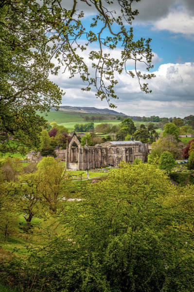 Bolton Photograph - Bolton Priory In Springtime by W Chris Fooshee