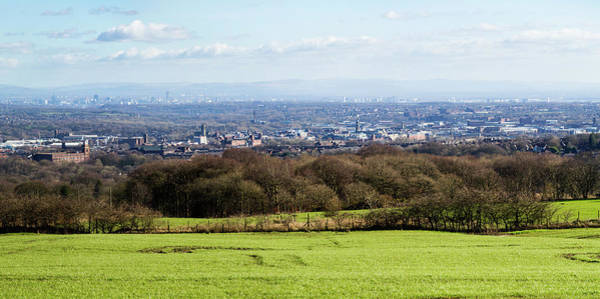 Greater Manchester Wall Art - Photograph - Bolton Skyline Panorama by Joseph Clemson