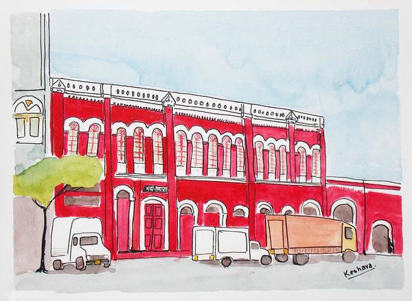 Mumbai Painting - Bombay Samachar  by Keshava Shukla