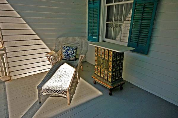 Painting - Bon Secour Lounge On The Porch by Michael Thomas