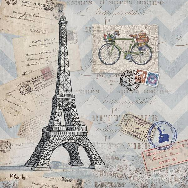 Wall Art - Painting - Bon Voyage I by Paul Brent