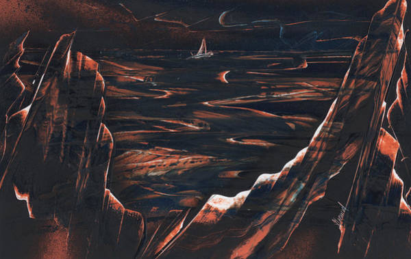 Painting - Bon Voyage by Jason Girard