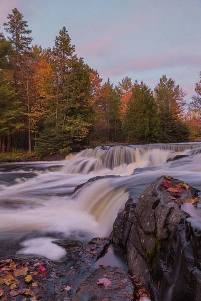 Photograph - Bond Falls Sunset, Upper Peninsula, Michigan by Paul Schultz