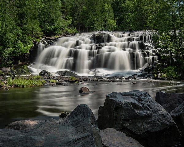 Photograph - Bond Falls IIi by William Christiansen