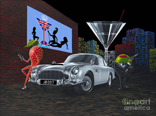 Wall Art - Painting - Bond by Michael Godard