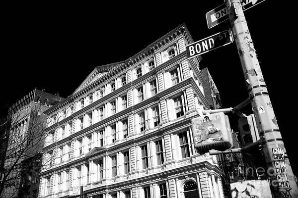 Photograph - Bond Street by John Rizzuto