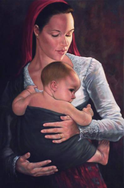 Painting - Bonding by Harvie Brown