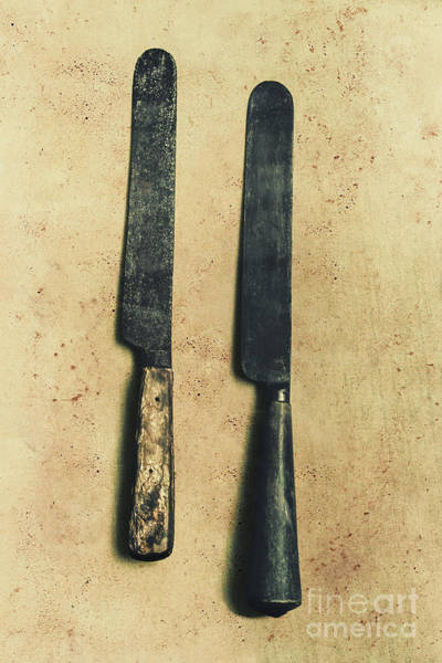 Blades Photograph - Bone-handled Knives by Jorgo Photography - Wall Art Gallery
