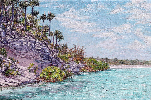 Painting - Bonefish Creek by Eddie Minnis