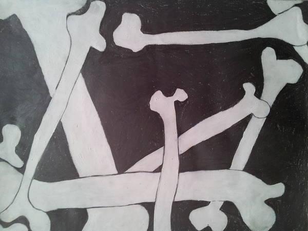 Nerves Drawing - Bones by William Douglas