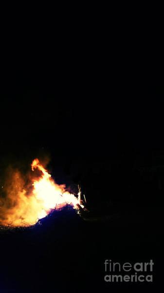 La Gomera Wall Art - Photograph - Bonfire In Valle Gran Rey by Peter Hertzberg
