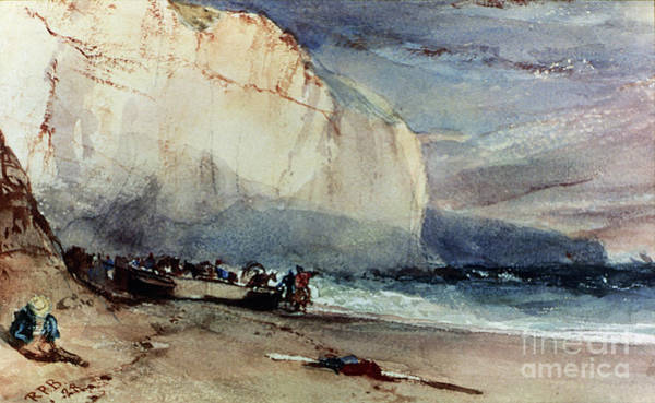 Painting - Bonington, Cliff, 1828 by Granger