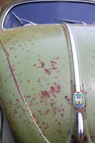 Volkswagen Kafer Photograph - Bonnet Patina by Robert Walton