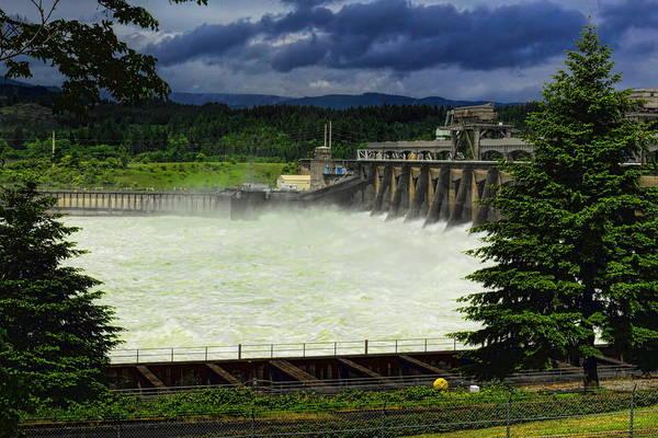 Bonneville County Photograph - Bonneville Dam by Dale Kauzlaric