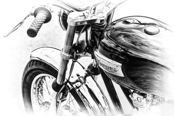 Photograph -  Bonneville Monochrome  by Tim Gainey