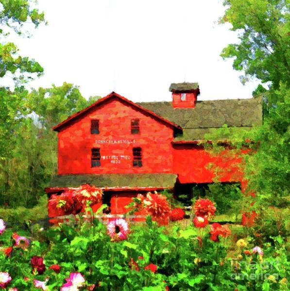 Bonneyville Mill Wall Art - Photograph - Bonneyville Mill by Desiree Paquette