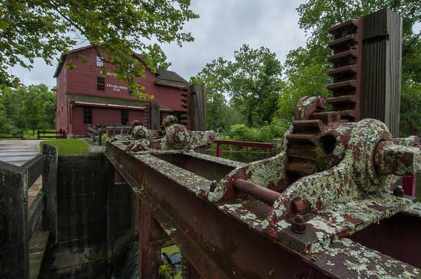 Bonneyville Mill Wall Art - Photograph - Bonneyville Mills Gears by Brian Green