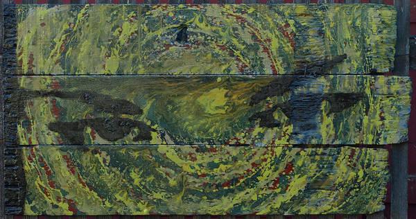 Painting - Bonnies Eyes by Erik Paul