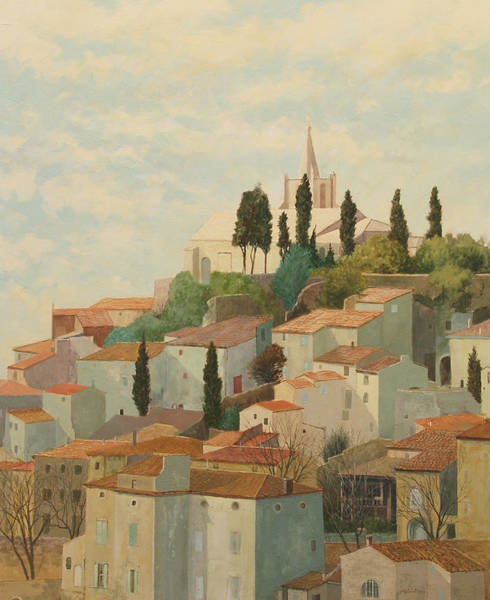 Painting - Bonnieux Vaucluse by E Colin Williams ARCA