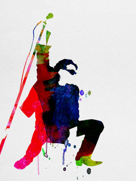 Classical Wall Art - Painting - Bono Watercolor by Naxart Studio