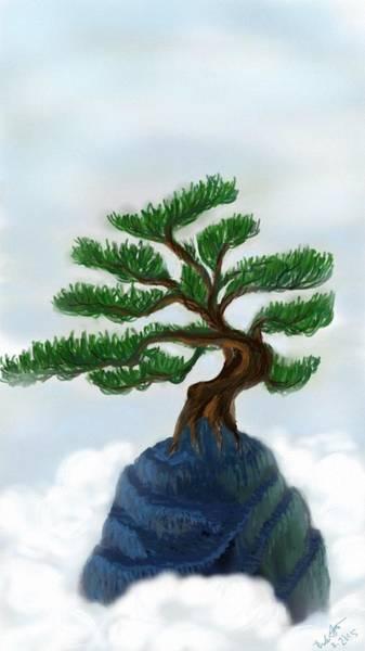Bonsai Tree Digital Art - Bonsai by Brenda Tamano