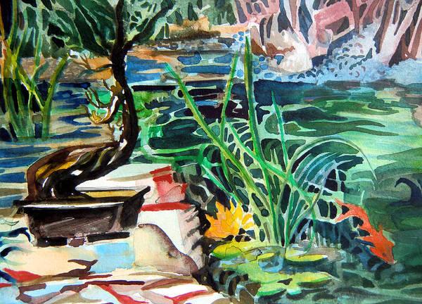 Meditation Drawing - Bonsai Meditations by Mindy Newman