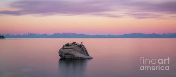 Photograph - Bonsai Rock Sunrise Pano by Michael Ver Sprill