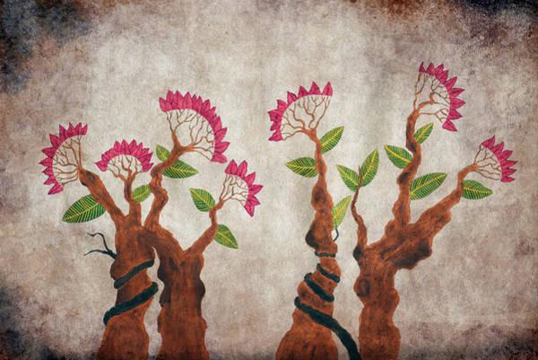 Bonsai Tree Digital Art - Bonsai Series 6 Vintage 1 by Sumit Mehndiratta