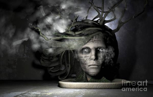 Bonsai Tree Digital Art - Bonsai Wrath by Danilo Lejardi