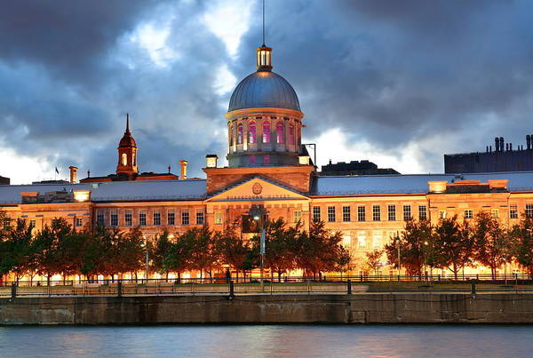Photograph - Bonsecours Market  by Songquan Deng
