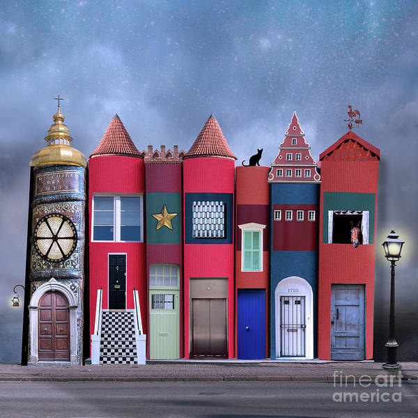 Wall Art - Photograph - Book Houses by Juli Scalzi