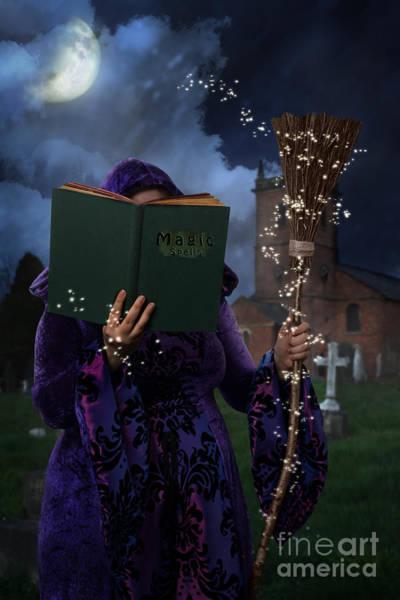 Wall Art - Photograph - Book Of Magic Spells by Amanda Elwell