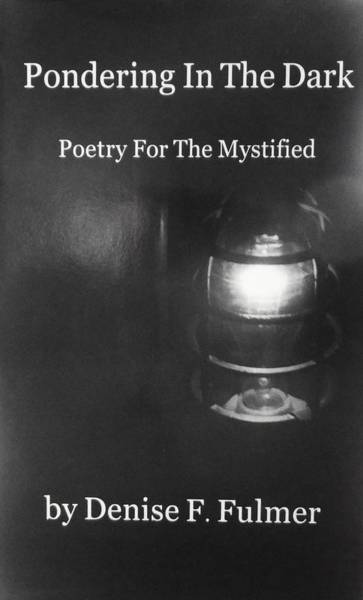 Photograph - Book Pondering In The Dark by Denise F Fulmer