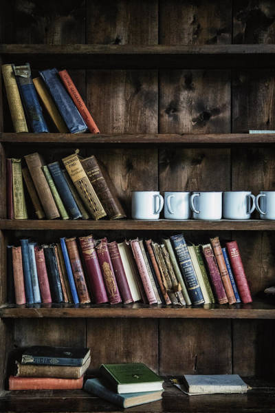 Book Shelf Photograph - Book Shelf by Joana Kruse