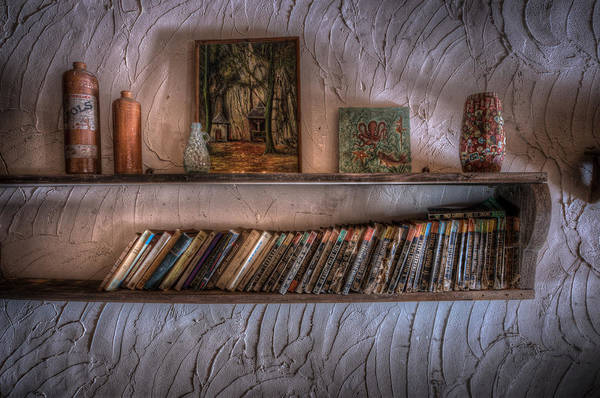 Wall Art - Digital Art - Bookshelf  by Nathan Wright