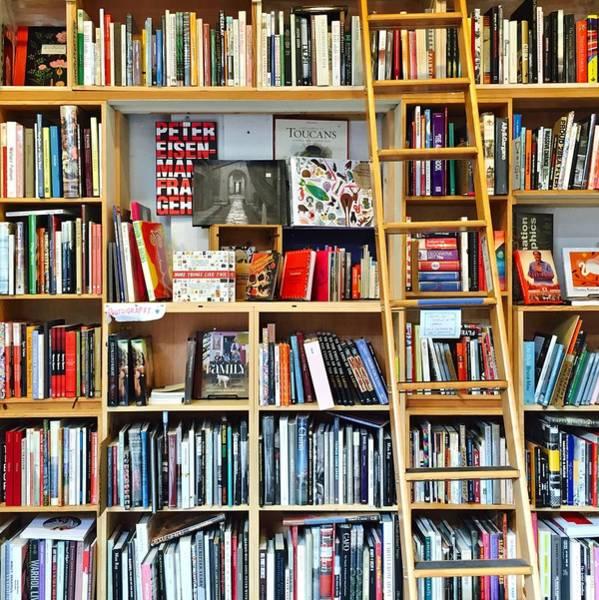 Wall Art - Photograph - Bookstore by Julie Gebhardt