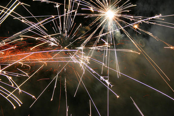 Fire Ring Photograph - Boom by Kristin Elmquist