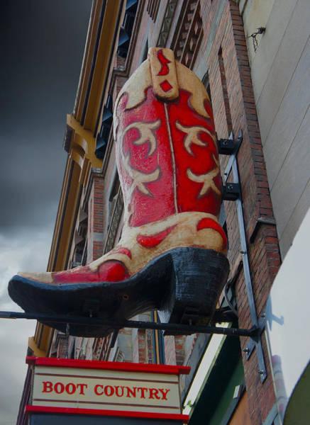 Wall Art - Digital Art - Boot Country by Art Spectrum