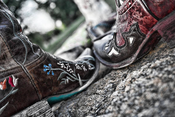 Photograph - Boot Scoot by Sharon Popek