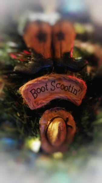 Photograph - Boot Scootin by Pamela Walton